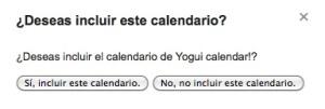 agregar calendario