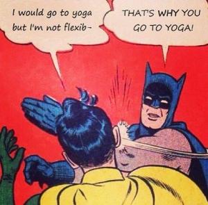 Mi primera clase de yogachispás…